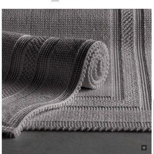 Restoration Hardware 17x24 Cotton Woven Bath Mat